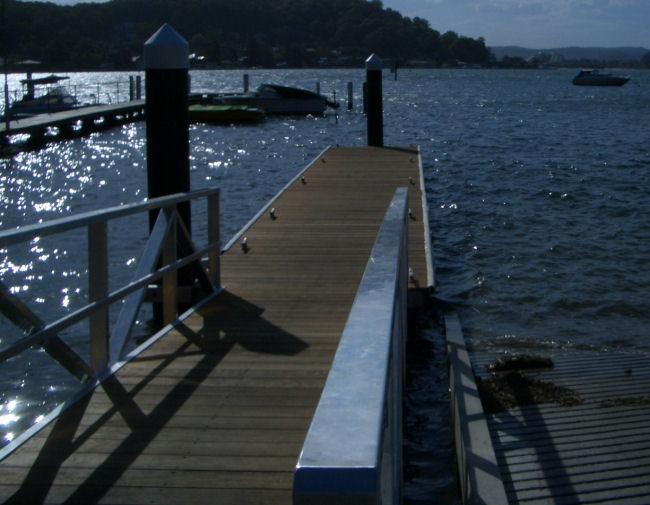 Floating Boat Ramp Pontoons Mds Marine Dock Systems